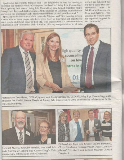 Wicklow Times 4.10.16 LL Counselling