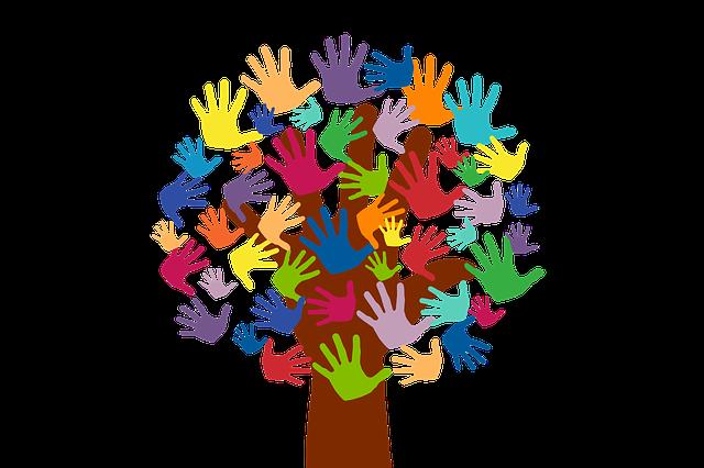Volunteer Hands Tree